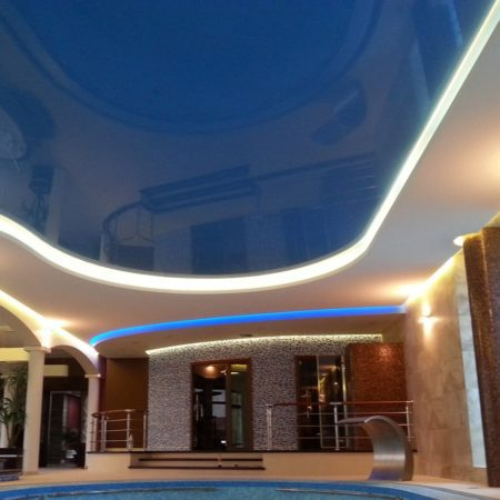 Swimming Pool Stretch Ceilings