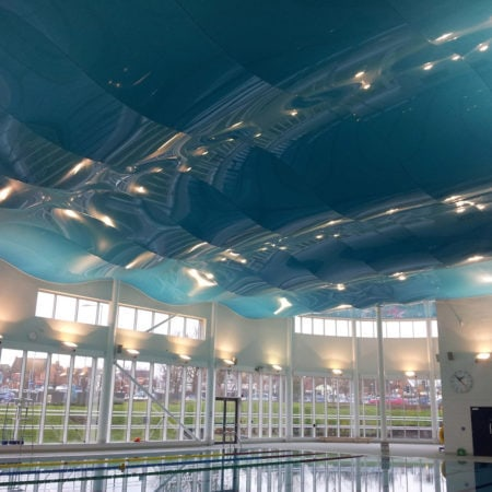 Installers of Pool Stretch Ceilings