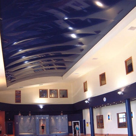 3D Stretch Ceiling Installation