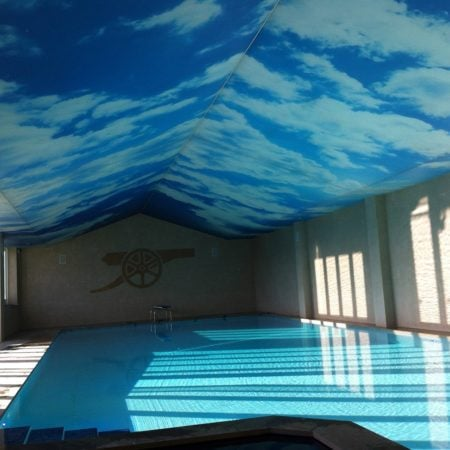 Pool Stretch Ceiling