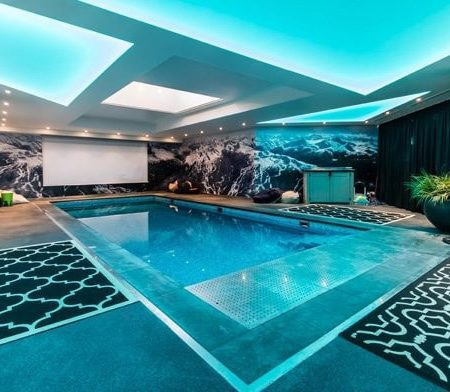 Pool Lighting Ceiling