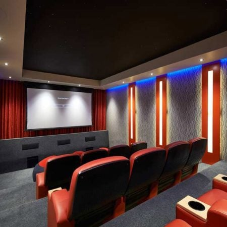 Perimeter Lighting Cinema Ceiling