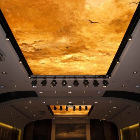 Cinema Stretched Ceiling