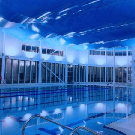 Pool Light Stretch Ceiling