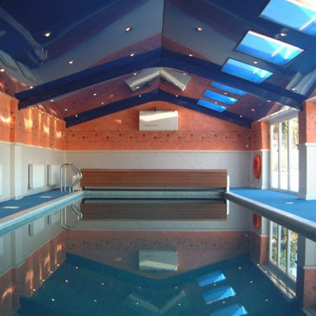 Pool Ceiling Installtion